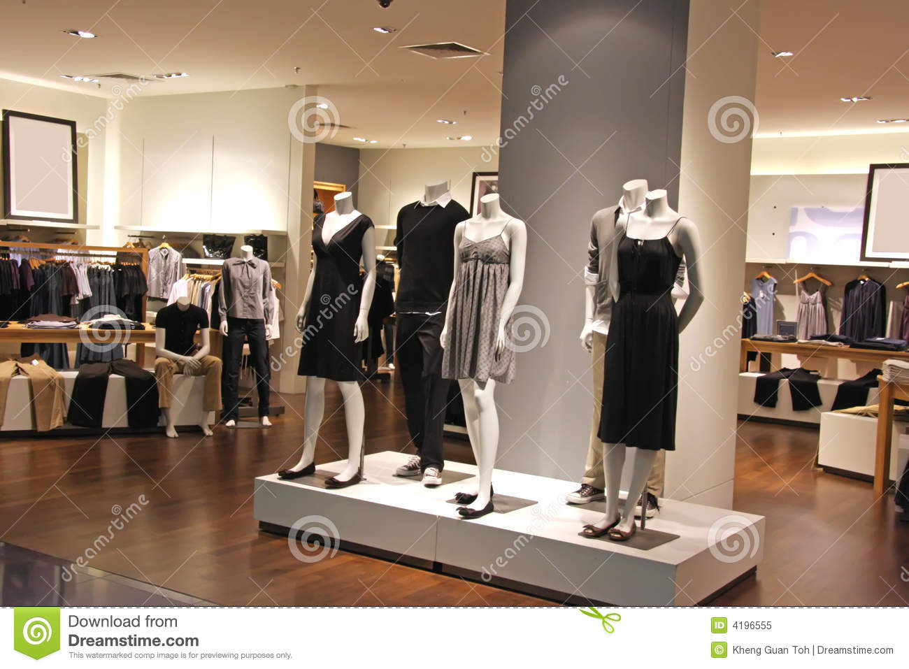 Fashion Retail Royalty Free Stock Photo Image 4196555