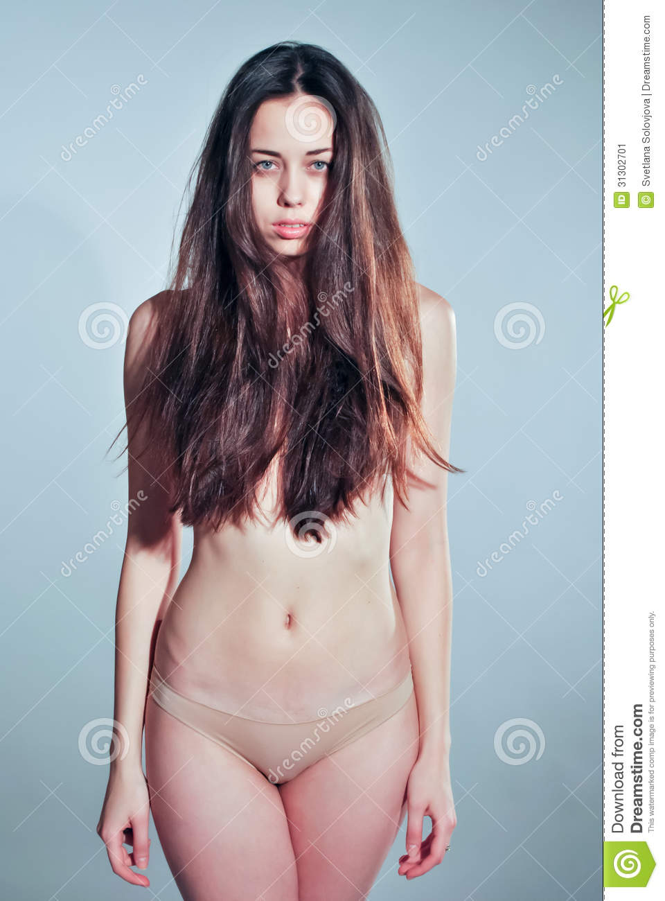 Russian fashion model nude
