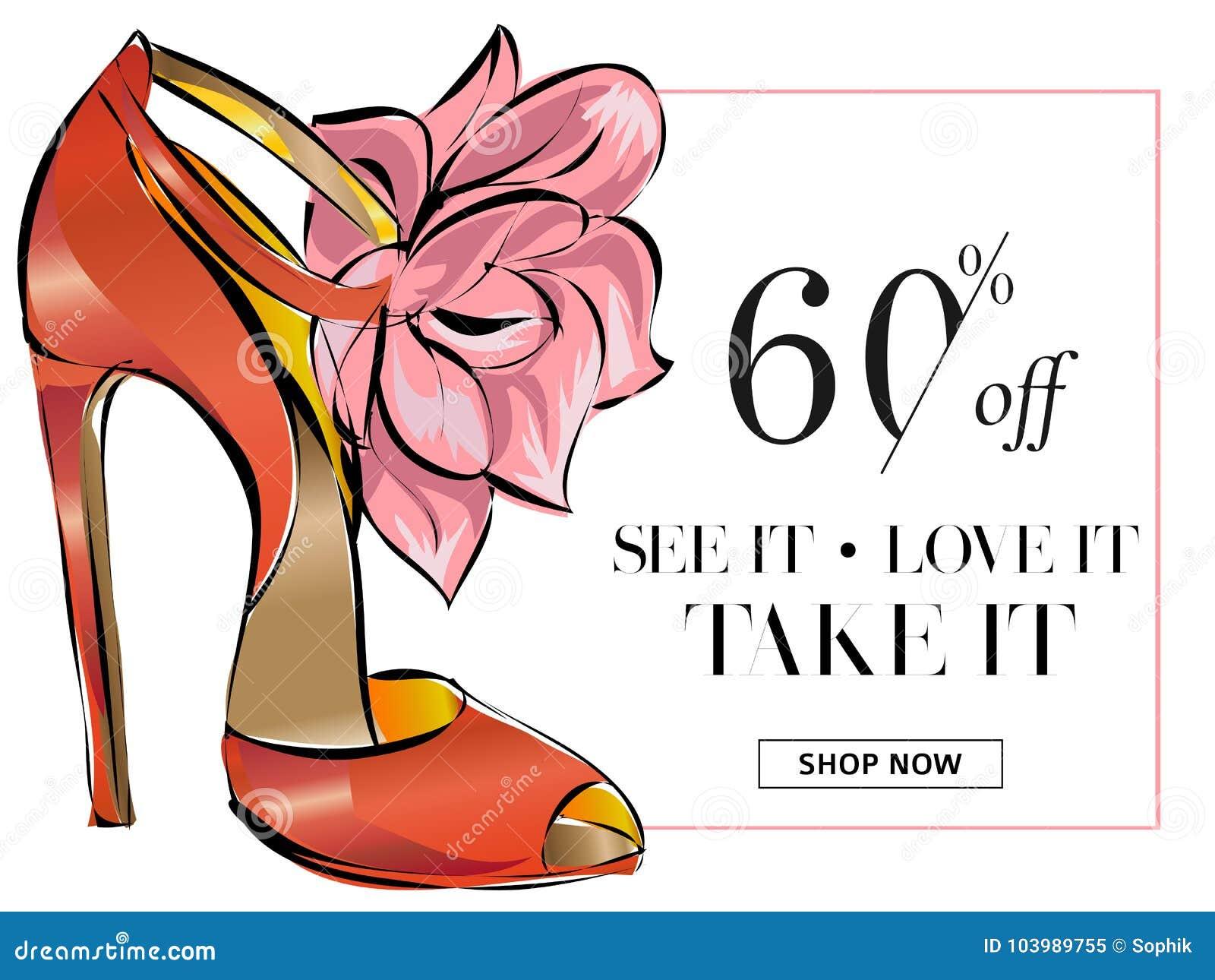 61da8978bfca4e Fashion Shoes Sale Banner