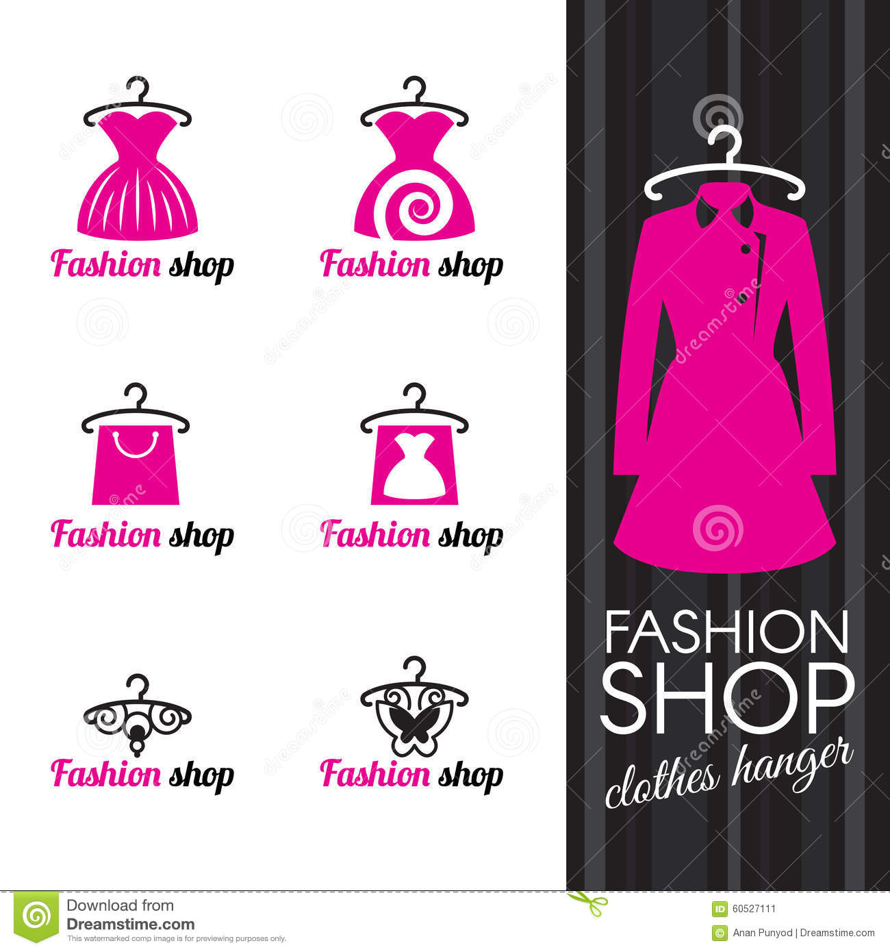 Fashion Designer Shopping Bag