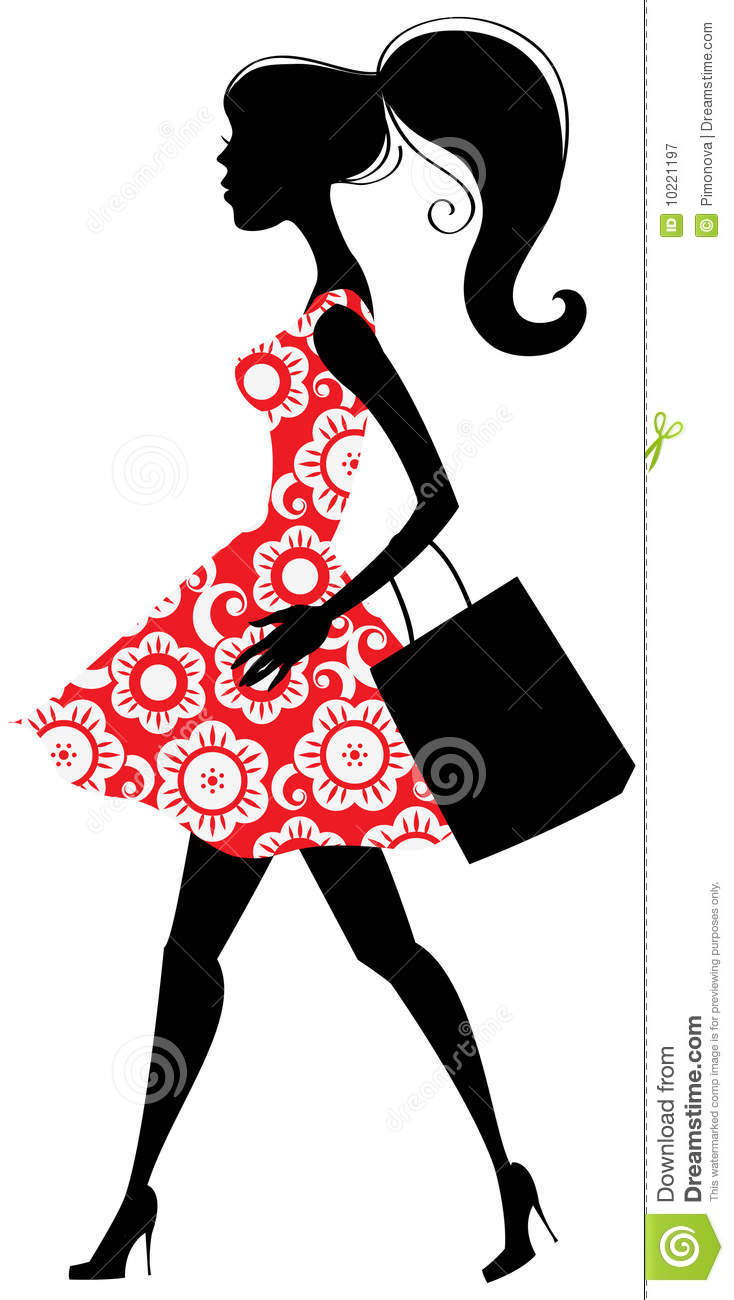 free clipart clothes shopping - photo #48