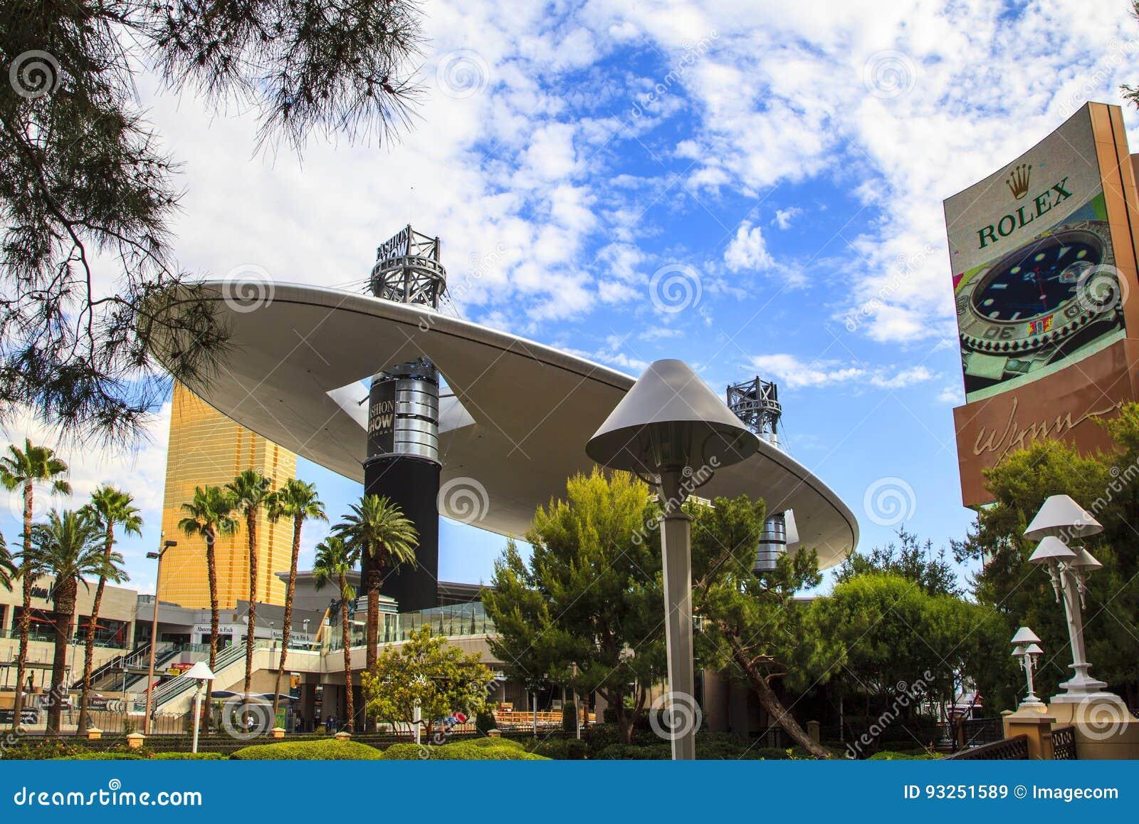 Fashion Show Mall , Las Vegas Editorial Stock Image , Image