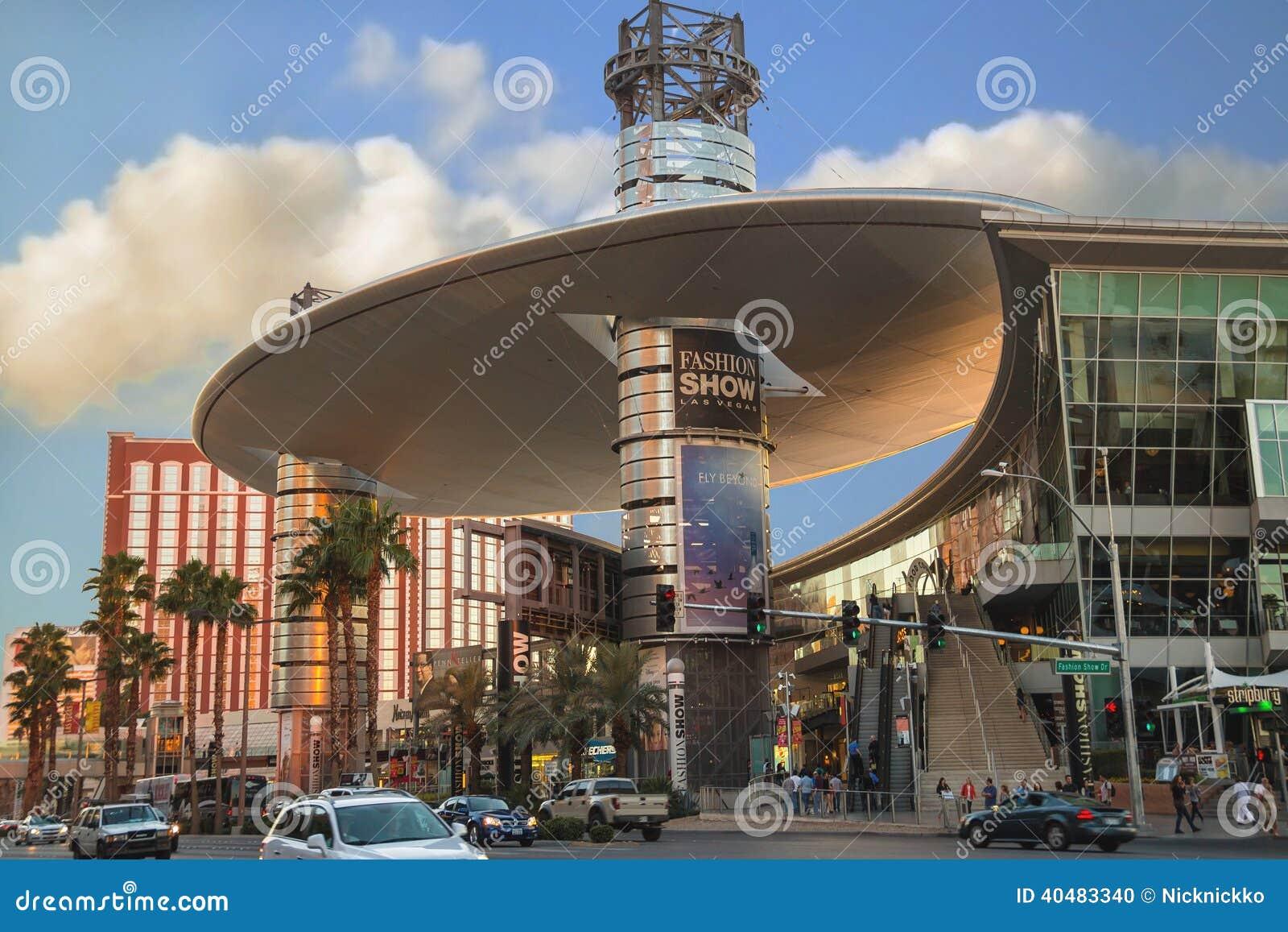 Fashion Show Mall In Las Vegas, Nevada. Editorial Image