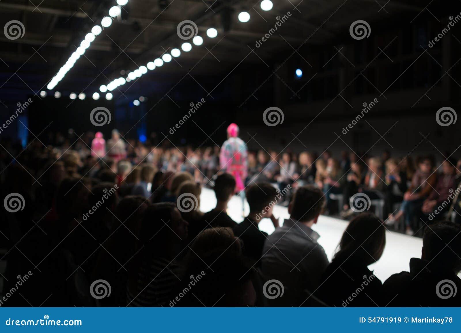 Fashion Show Stock Photo Image 54791919