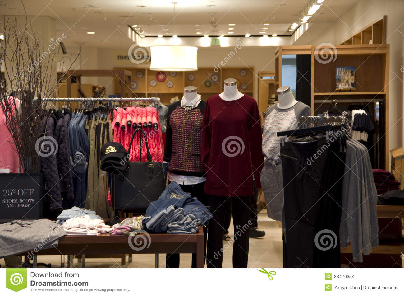 Clothing stores near me