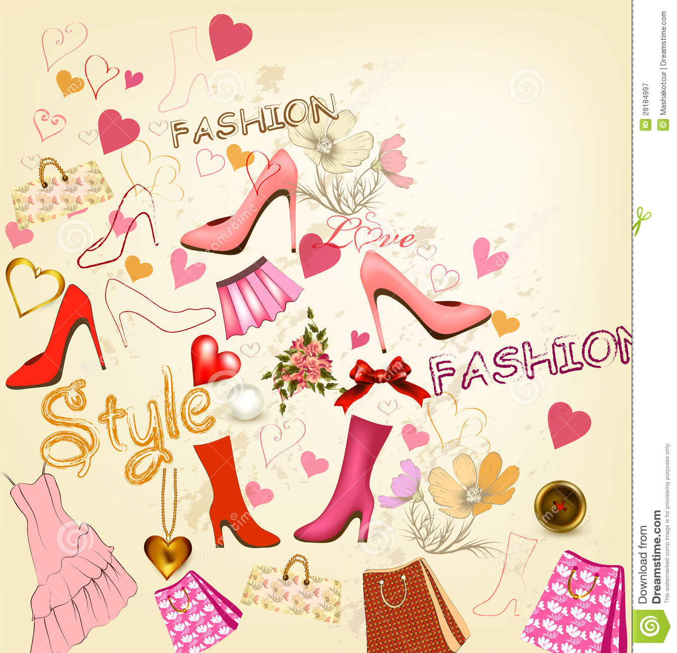 fashion stylish background royalty free stock photography