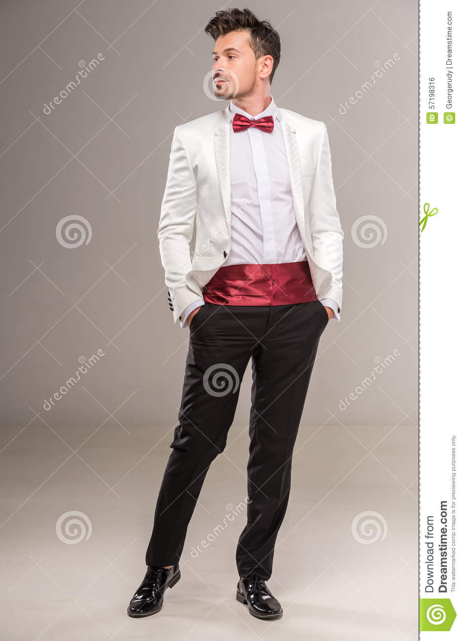 all white suit red bow tie wwwimgkidcom the image
