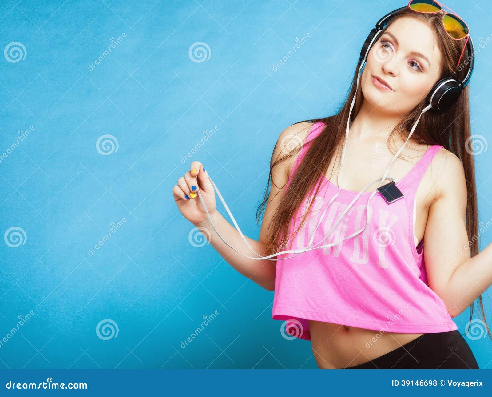 Teen might listen to music
