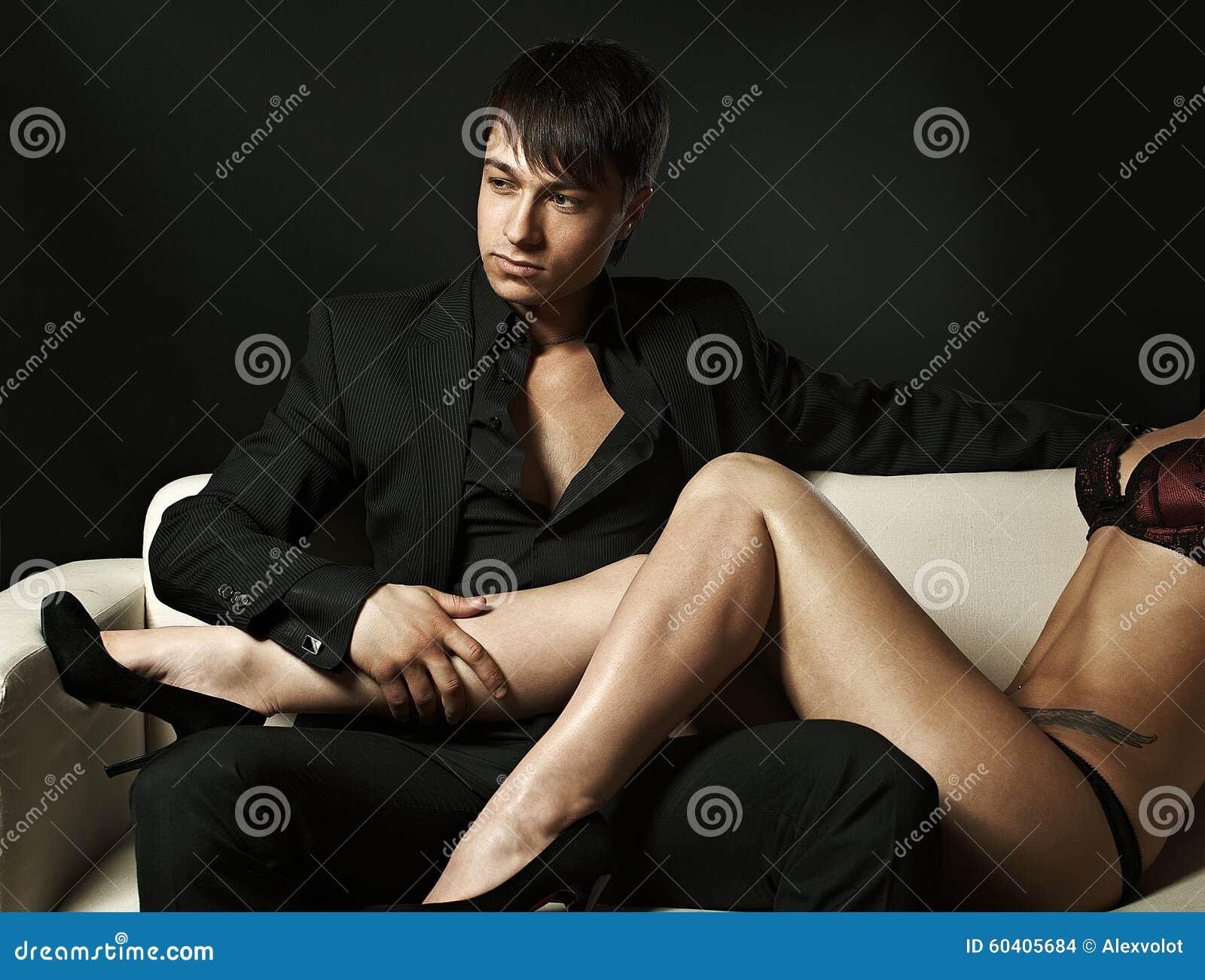 Young men sexy leg photos