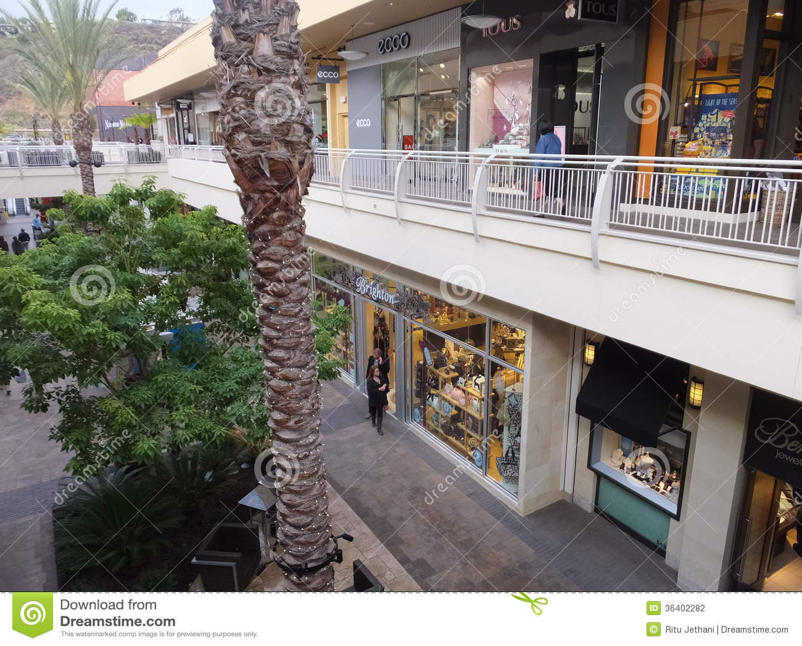 Fashion Valley Mall in San Diego, California
