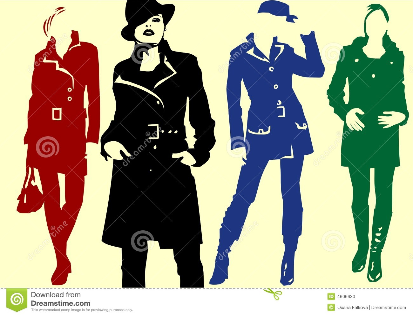 Fashion Vector Stock Vector. Image Of Fashion, Person