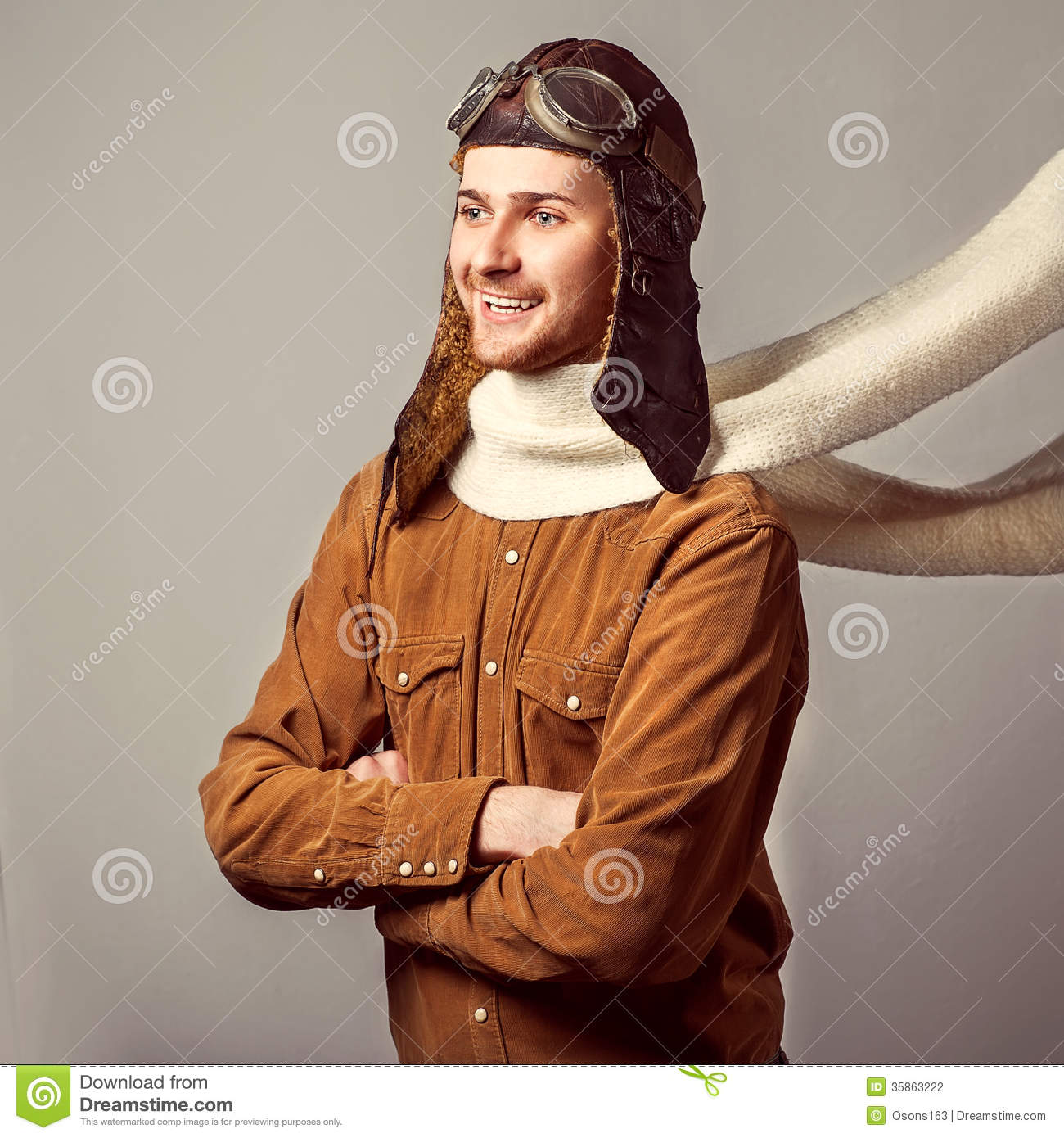 Fashion Vintage Men Stock Photography Image 35863222
