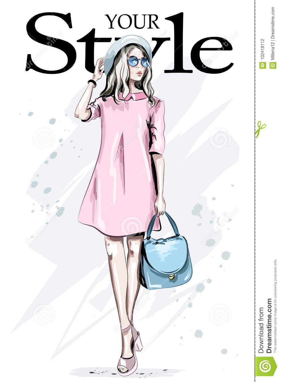 Dress Cartoons Illustrations Amp Vector Stock Images