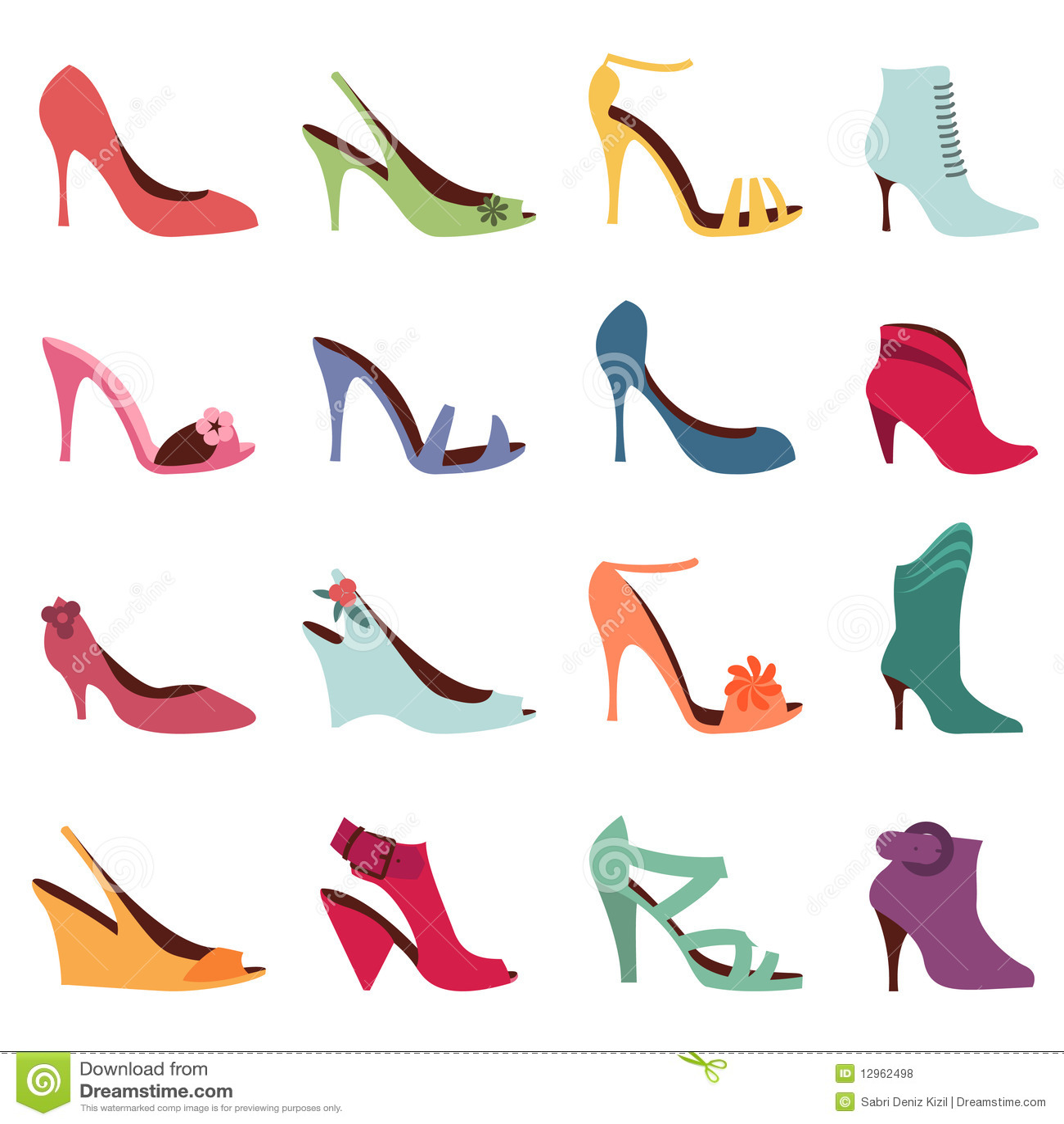 Royalty Free Stock Photos: Fashion women shoes