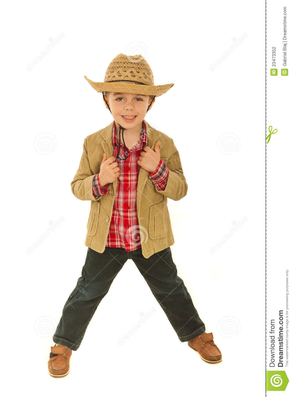 Fashionable Child Model Boy Stock Photography - Image: 23473352