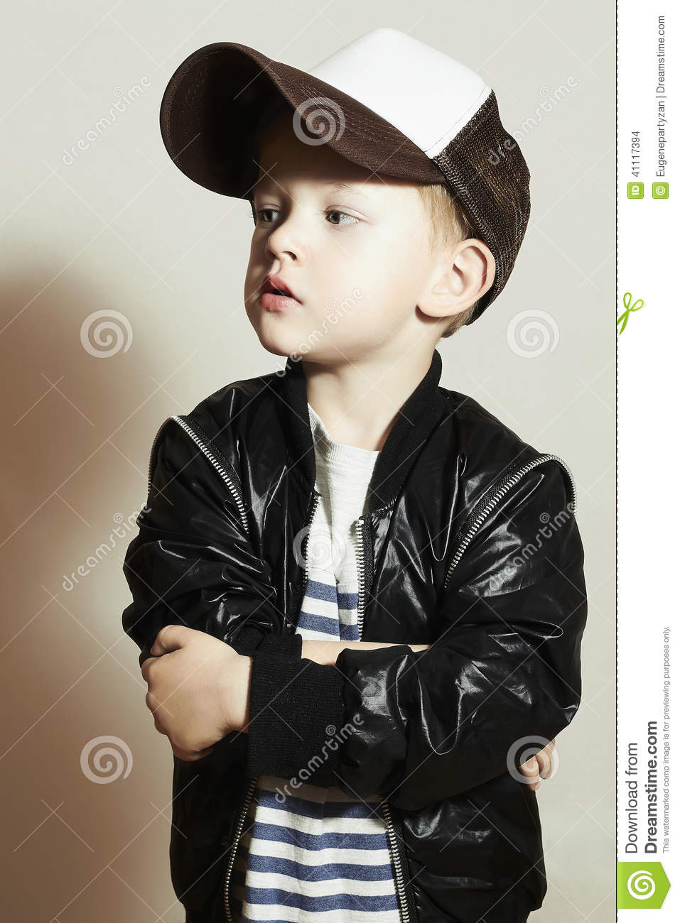 Fashionable Little Boy Hip Hop Style Fashion Children