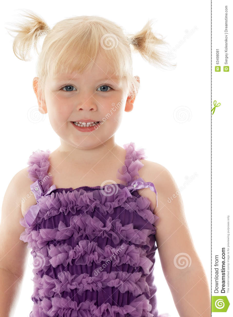 fashionable little girl stock photo image 63498081