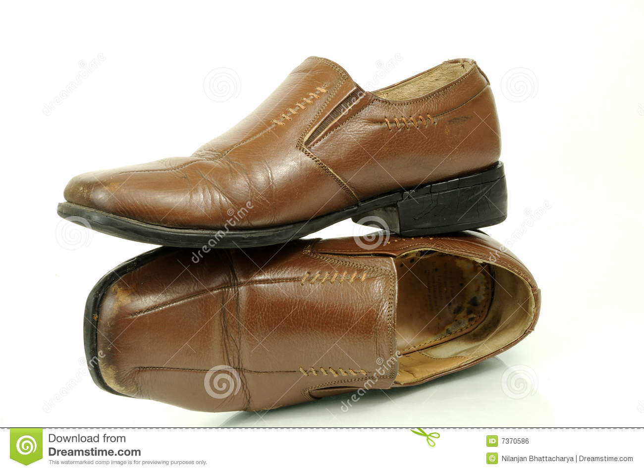 Fashionable Men's Shoes Royalty Free Stock Image - Image: 7370586