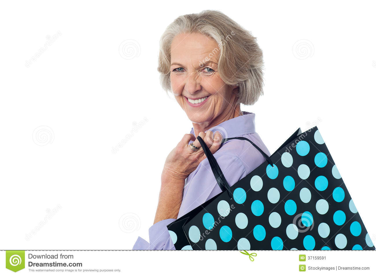 Confused old lady shopping Stock Photos - Page 1 : Masterfile