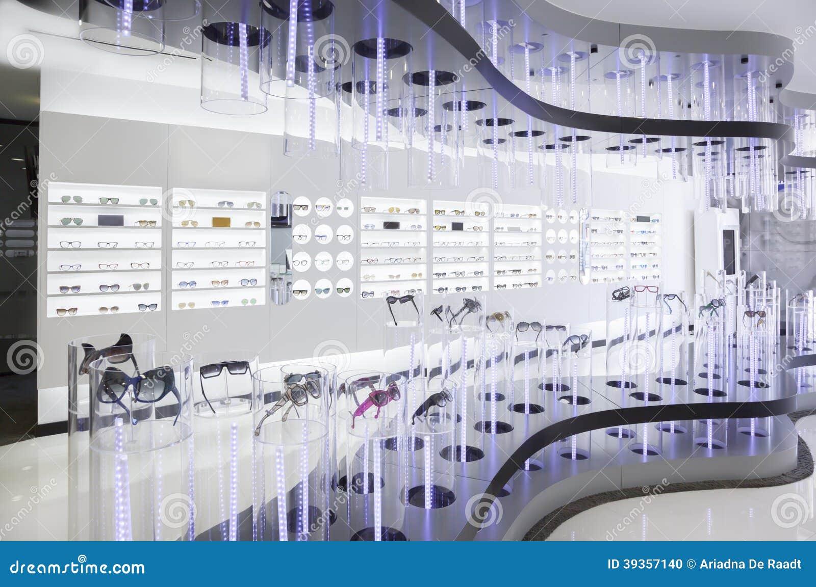Fashionable Optic Shop Stock Photo Image 39357140