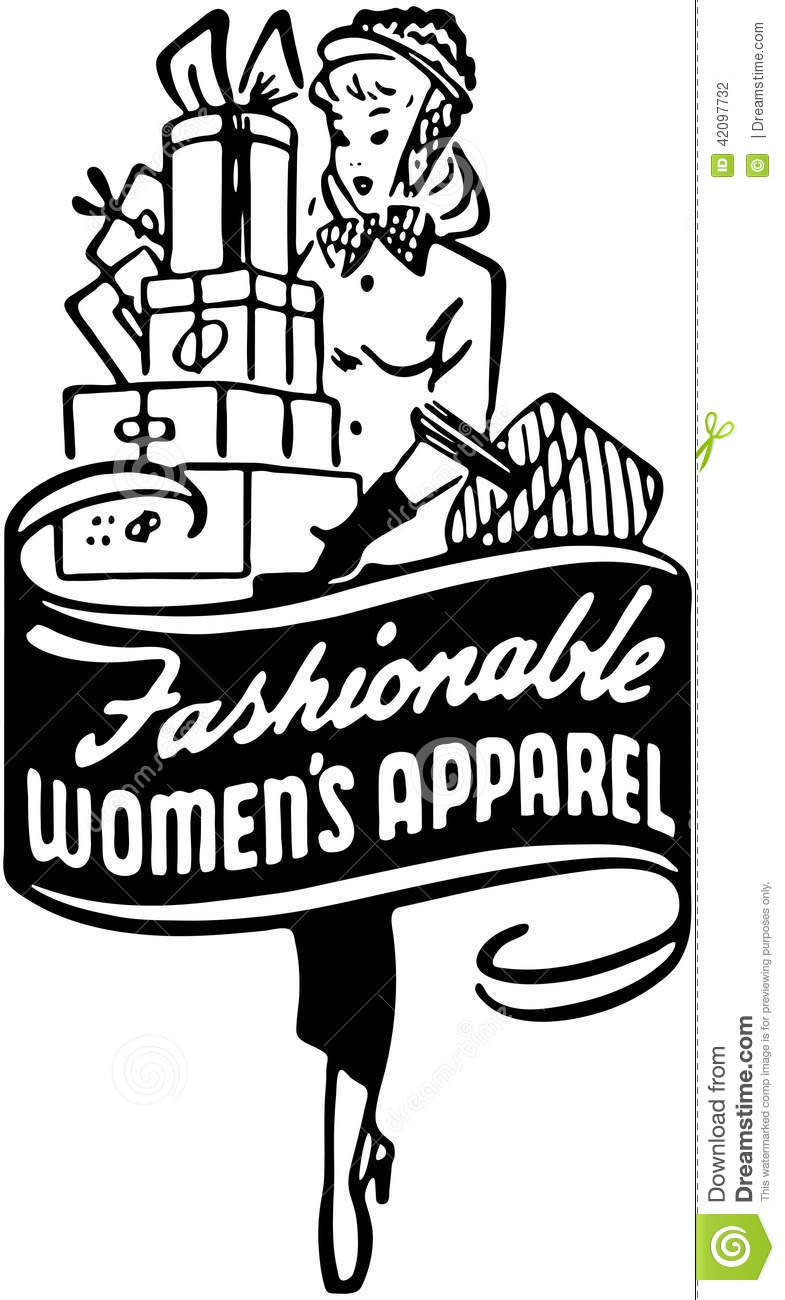 Fashionable Graphics For Women S Apparel