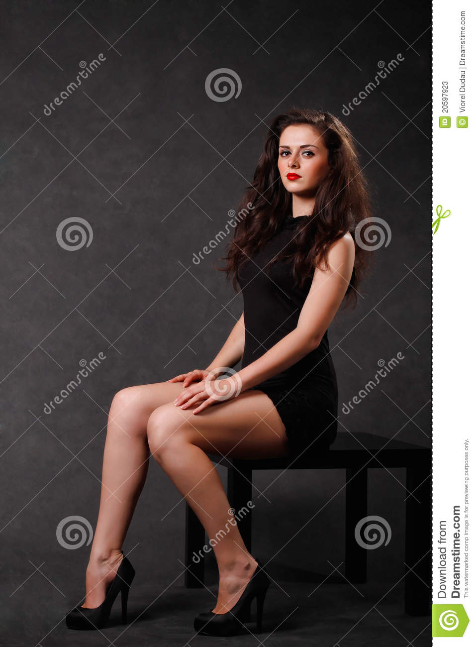 Fashionable Young Woman Stock Photos Image 20597923