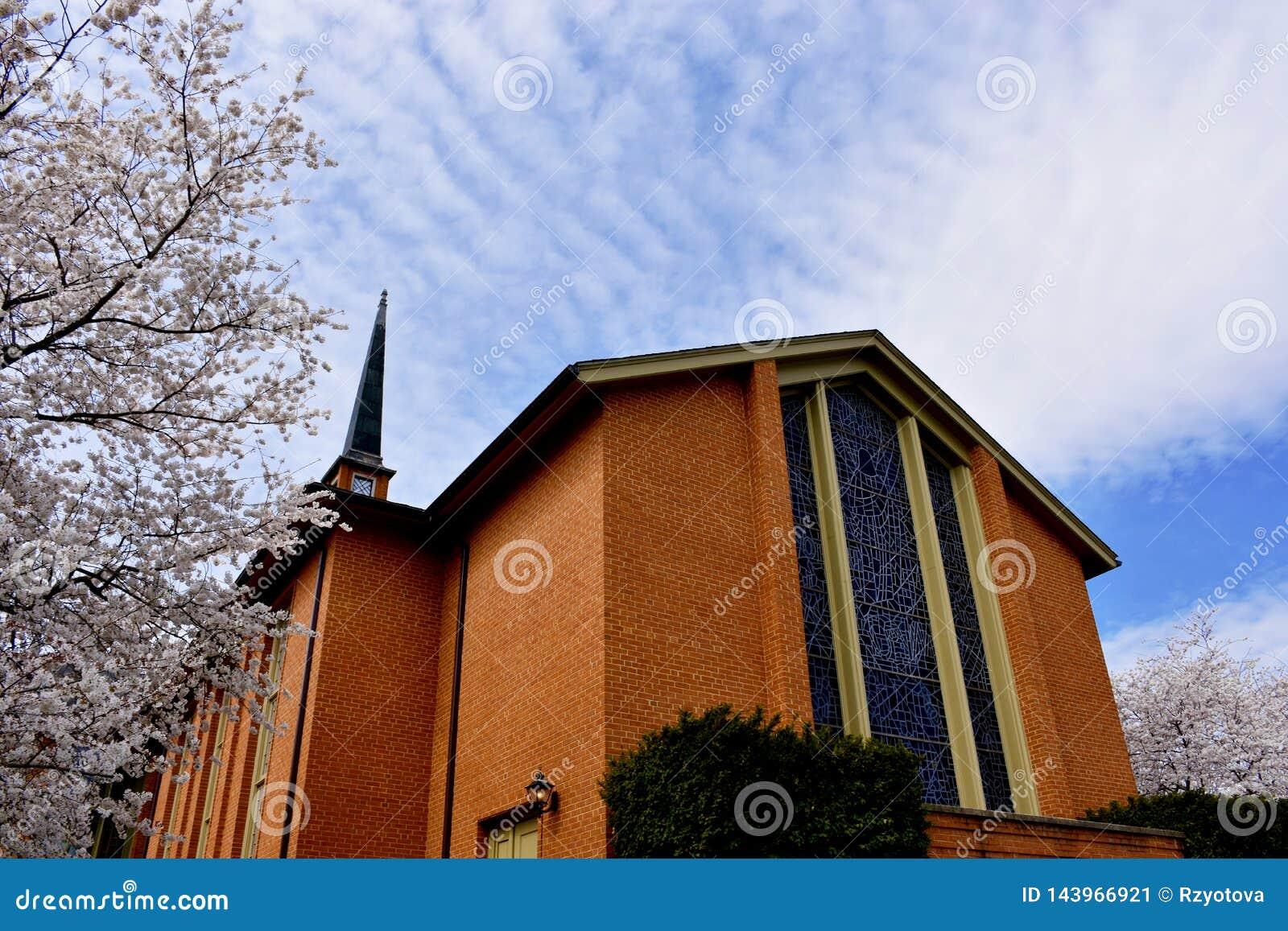 Fassade von Baptist Church