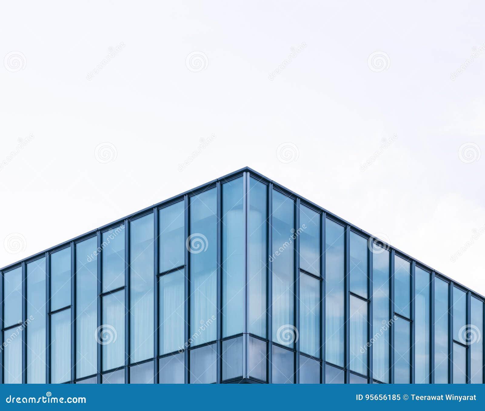 Fassaden Fensterrahmen Ausseres Der Modernen Architektur Glas