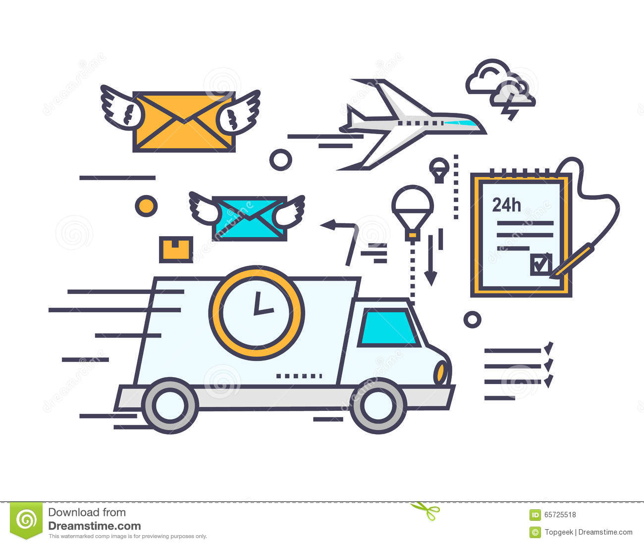 how to start a courier service business