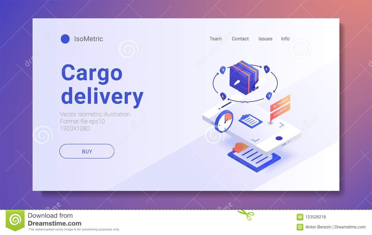 Fast Delivery Services and E-Commerce concept