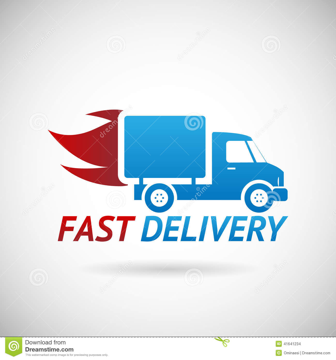 Clipart Of Delivery Truck