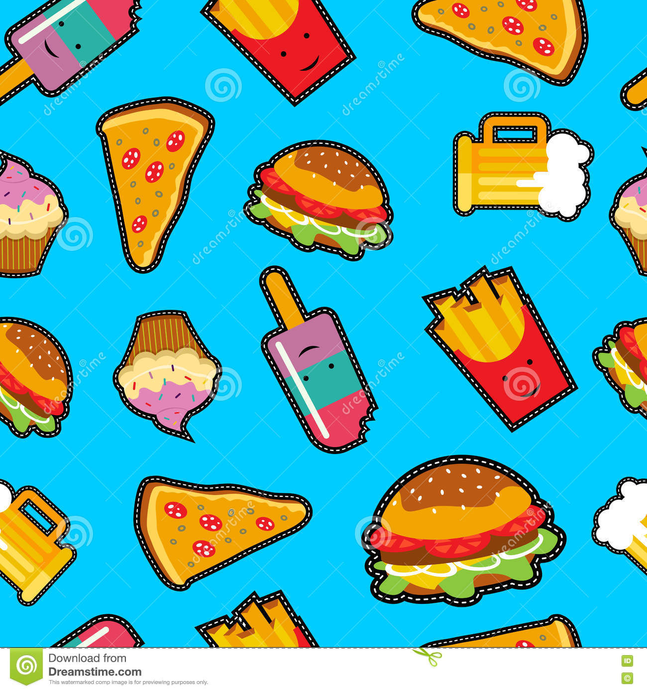 Fast Food Patches