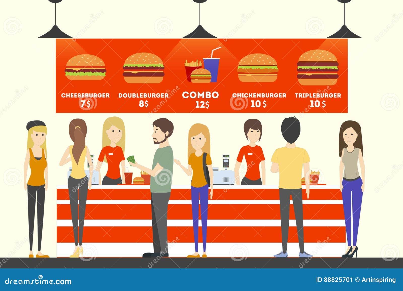 Occupation For Fast Food Clerk