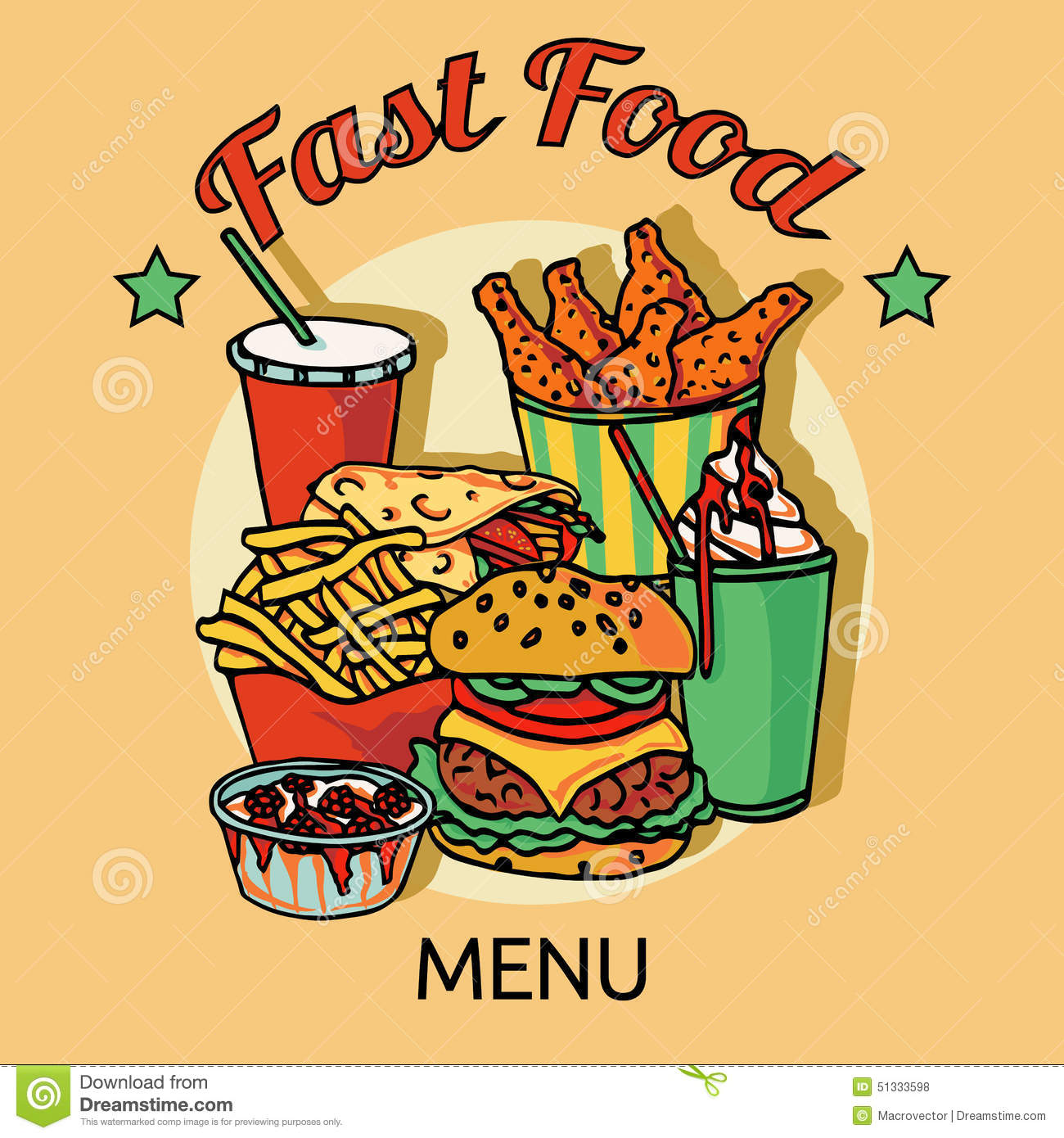 Healthy Menu Fast Food Restaurants