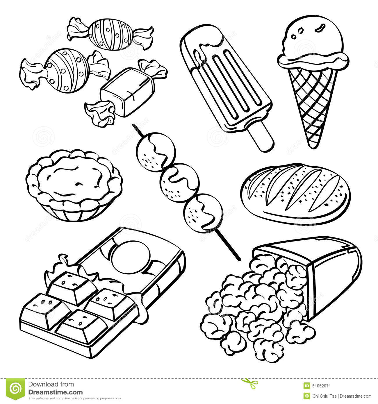 One Cake Clip Art Black And White