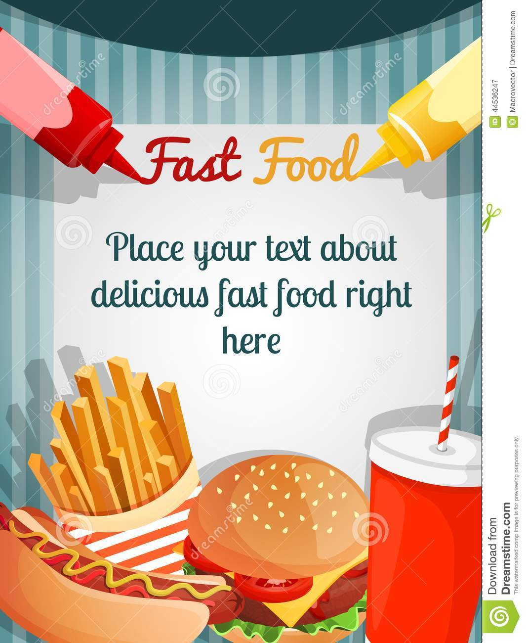overview and background of the fast food industry Food & beverage: background the food and beverage industry includes restaurants, bars, caterers, soft drink and juice companies, and candy manufacturers well-known companies such as mcdonalds, coca-cola and pepsico all belong to this industry.