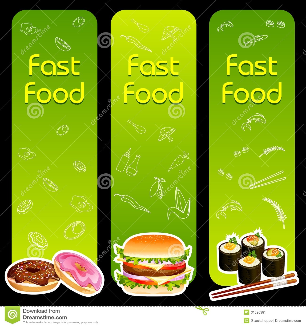 Fast Food Menu Template Image Image 31020381 – Food Menu Template