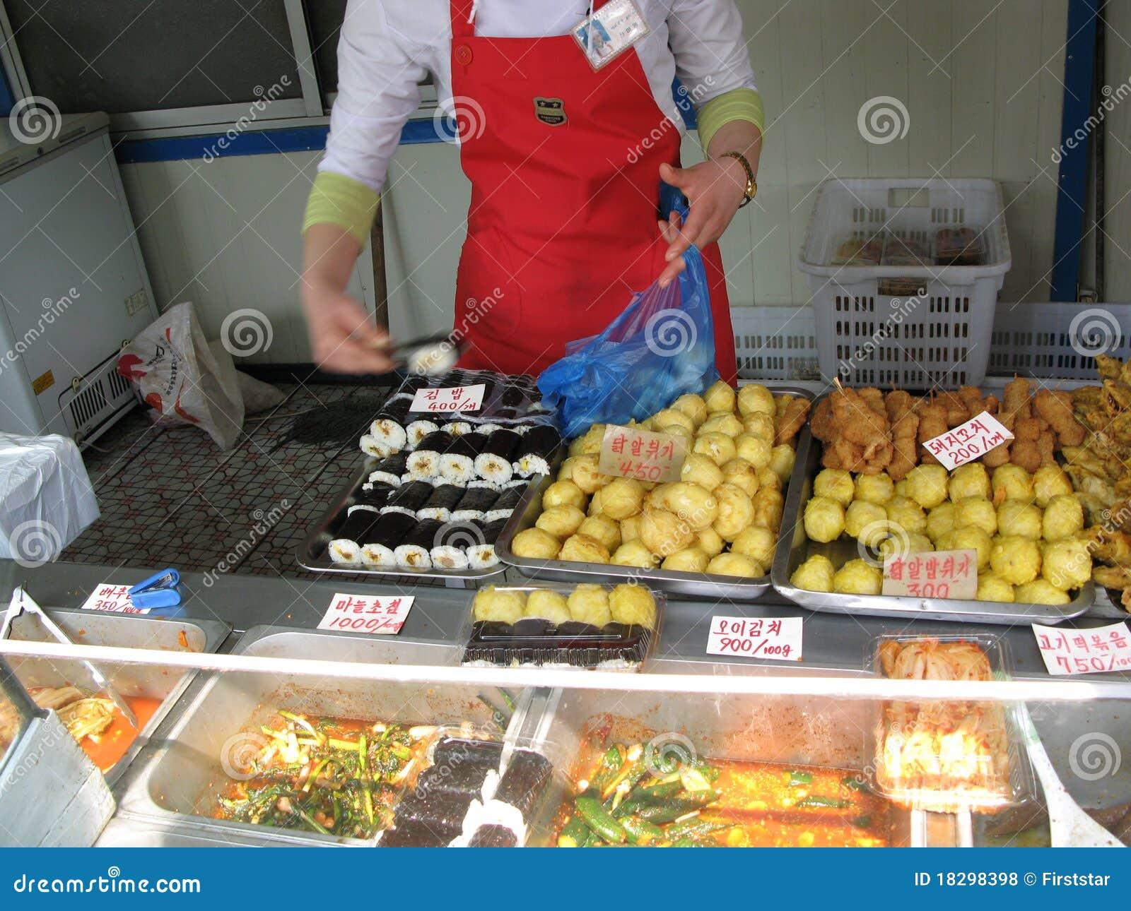 Fast Food Pyongyang Street Trade North Korea