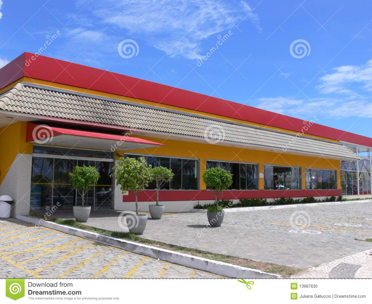 Fast food restaurant stock photo image of architecture for Fast food restaurants open on easter