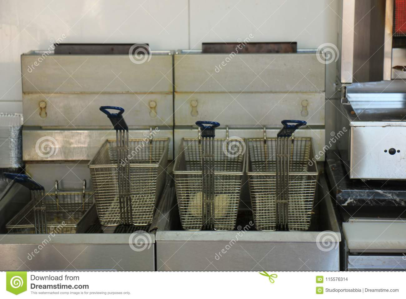Fast food restaurant interior stock images photos