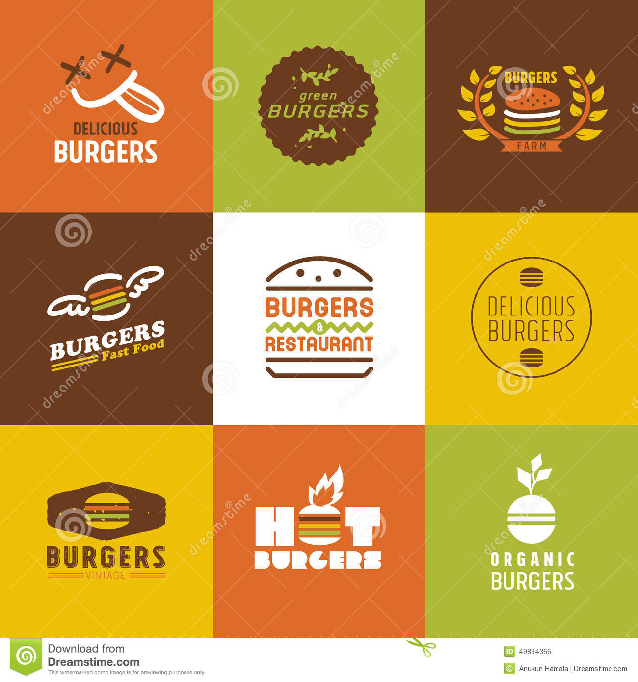 Restaurant logos stock vector illustration of illustration 33178915 fast food restaurant vector logos and icons set royalty free stock image buycottarizona Image collections