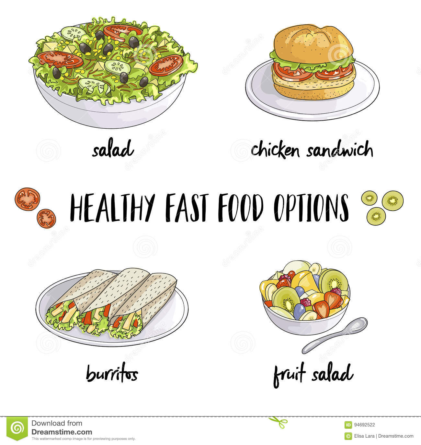 Fast food saudável