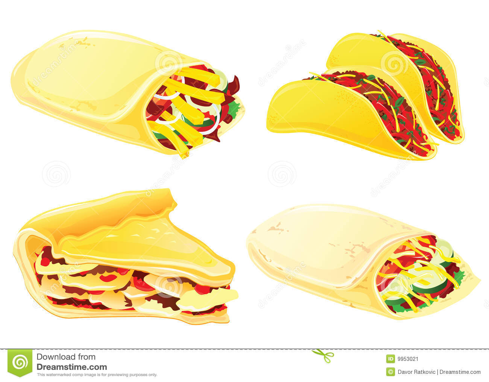 Burrito Fast Food