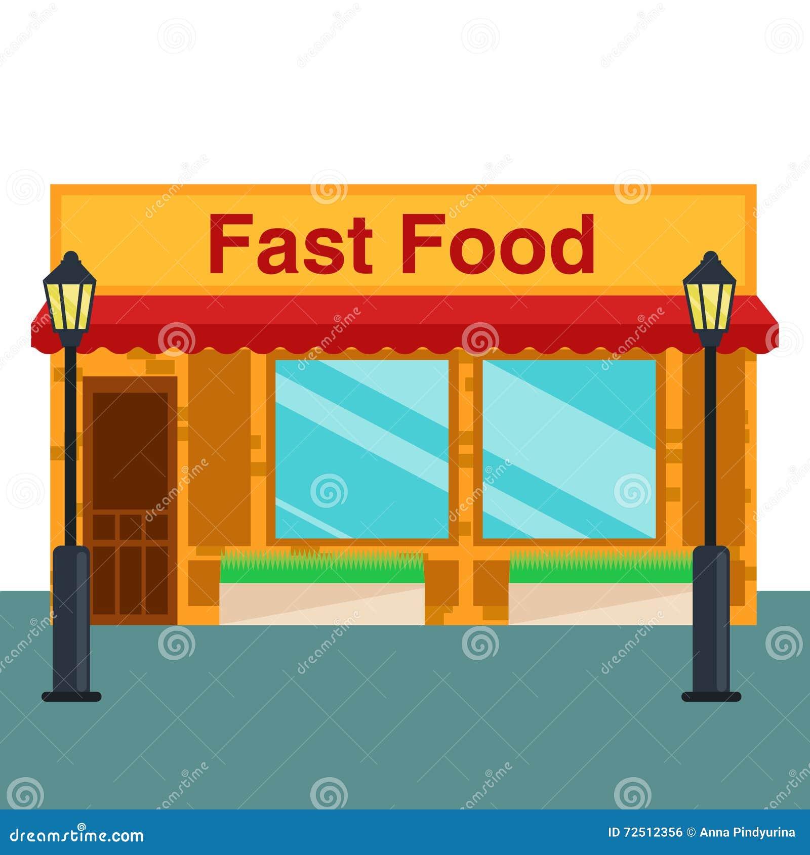Fast Food Shop Front Design