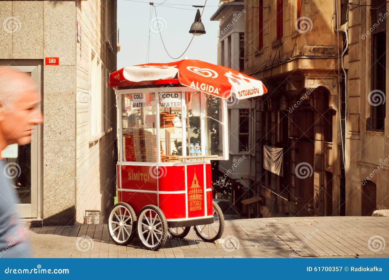 Simit Turkish Street Food