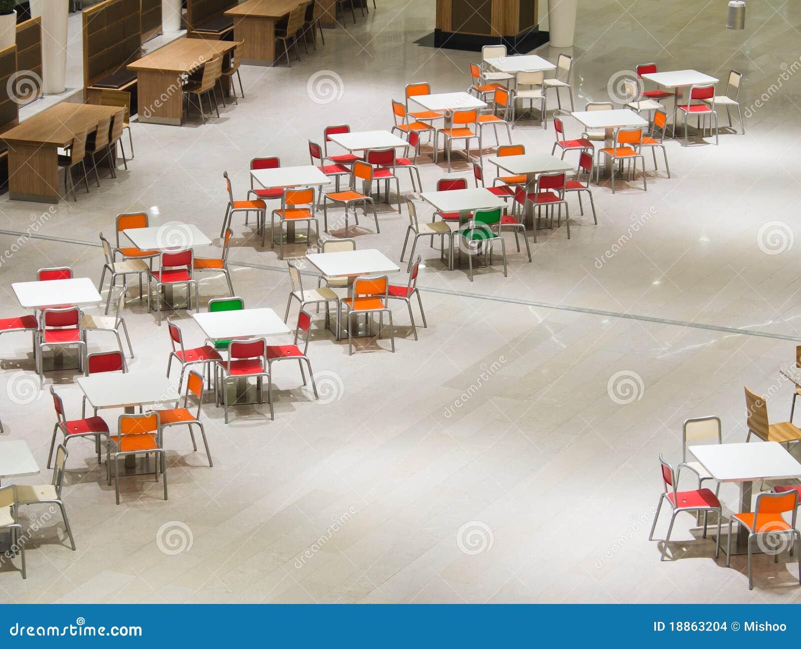 Fast-food tables