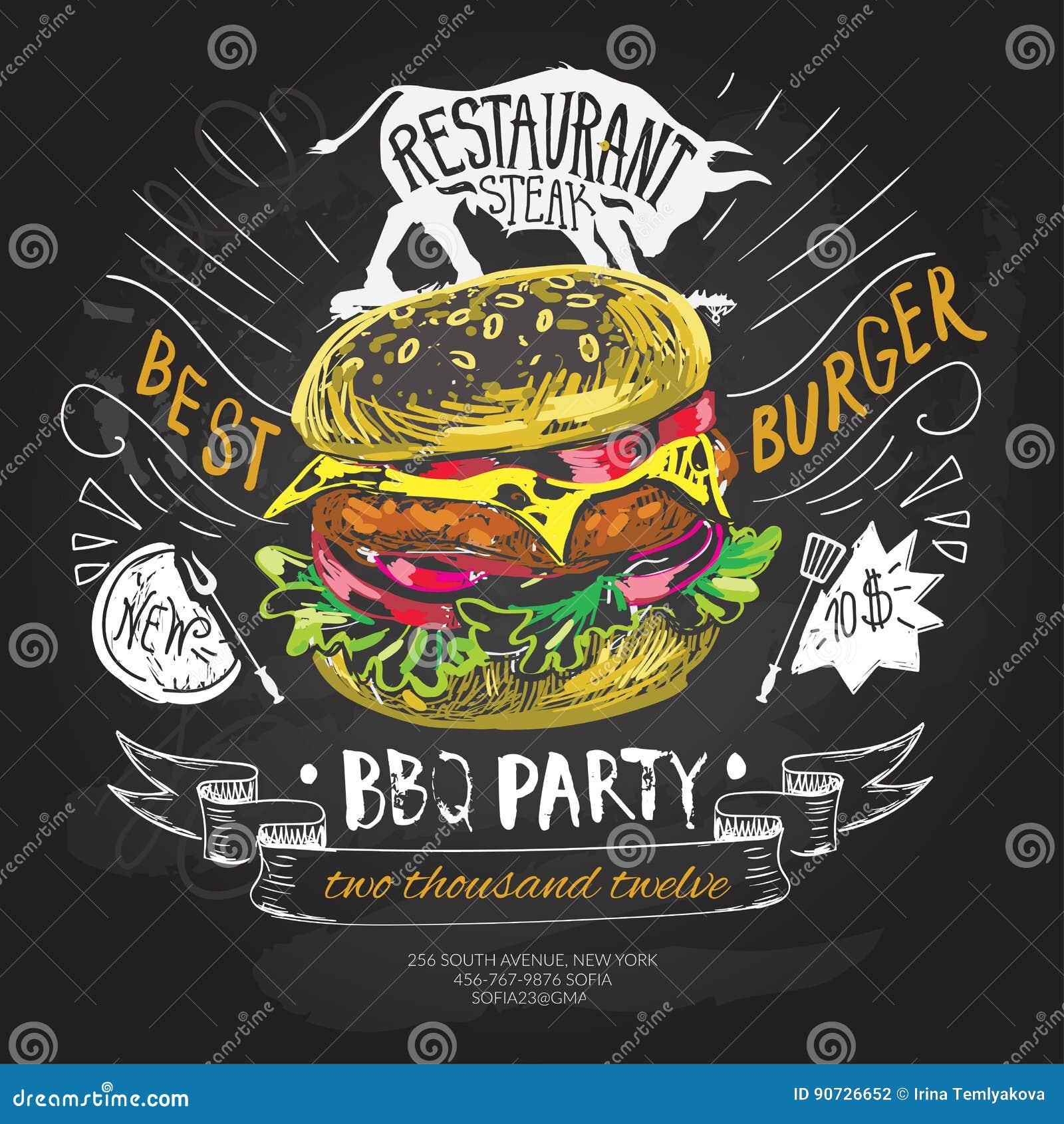 fast food vector logo design template hamburger burger