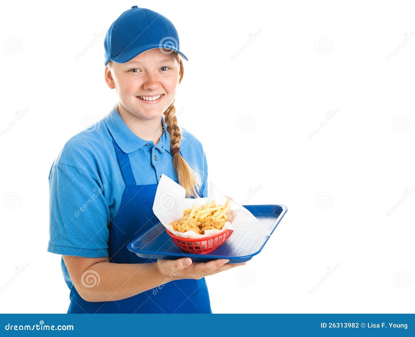 Teen Fast Food Employment