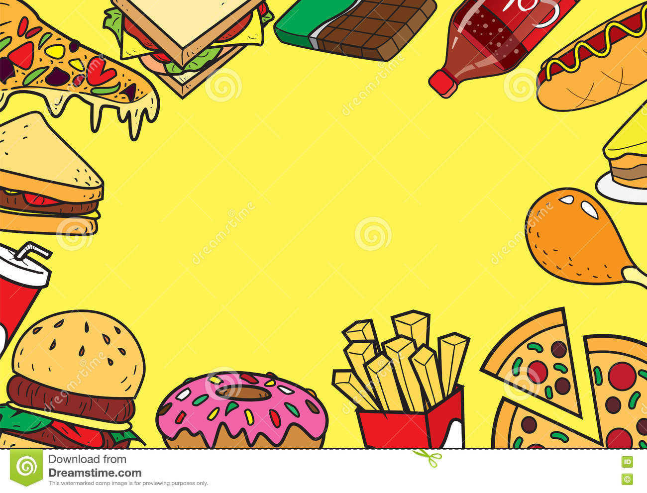 fast foods icon set cartoon vector cartoondealer com cheese pizza clipart images cheese pizza clipart images