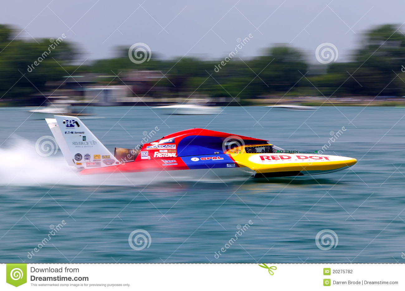 Fast Hydroplane editorial photography  Image of racing - 20275782